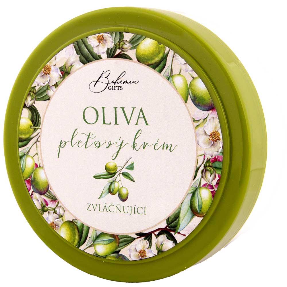 Pleťový krém - oliva