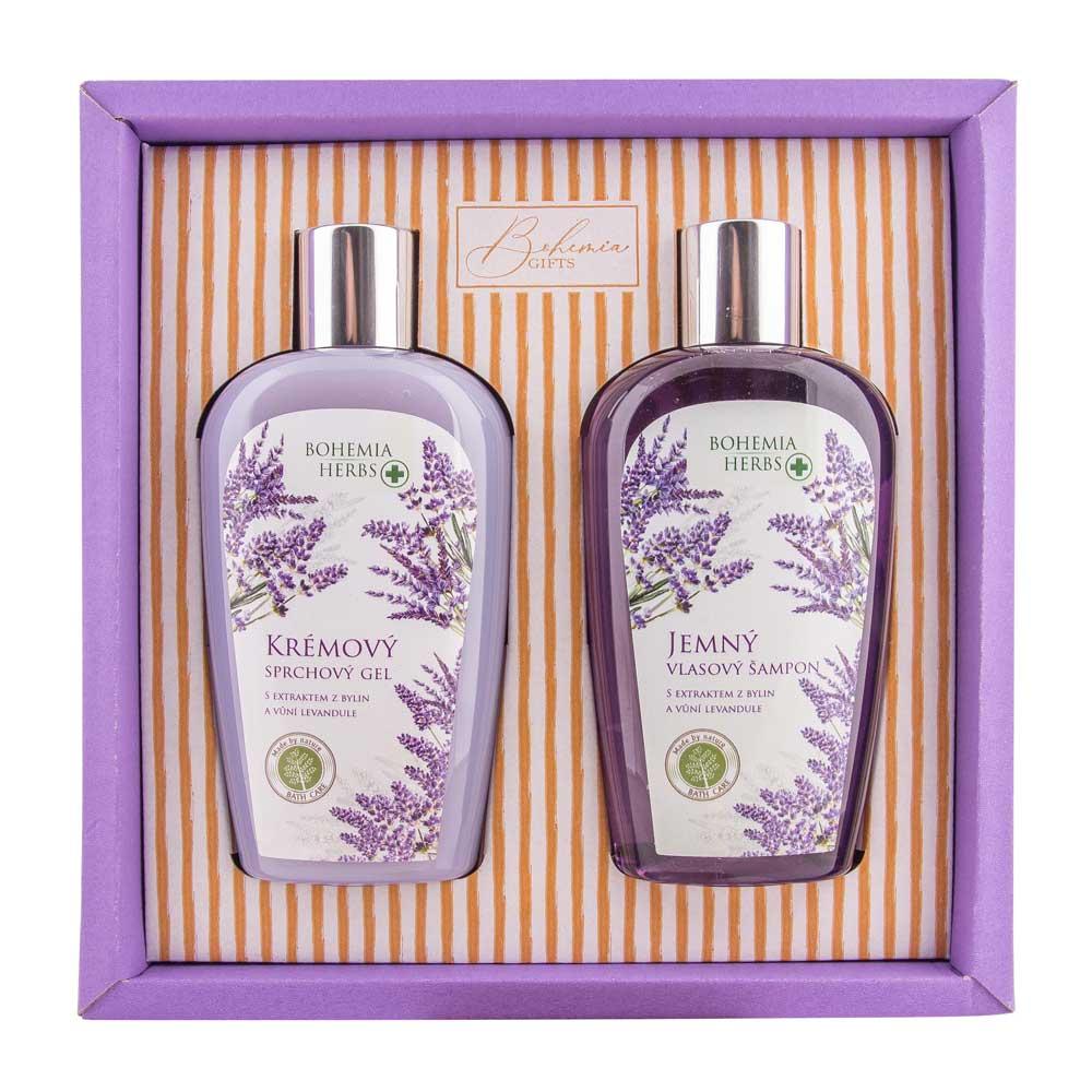 Kosmetická sada Bohemia Herbs - levandule