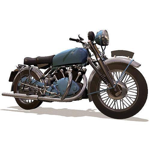 Tričko s retro motivem - T21 - motocykl