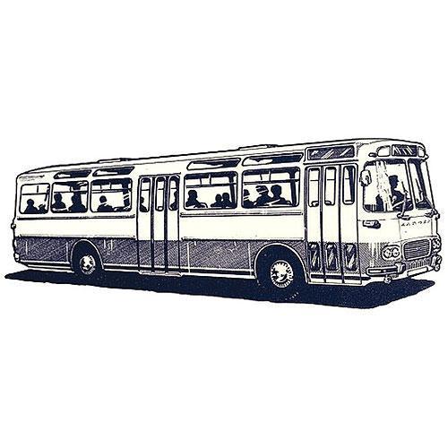 Tričko s retro motivem - T22 - autobus Škoda ŠL 11