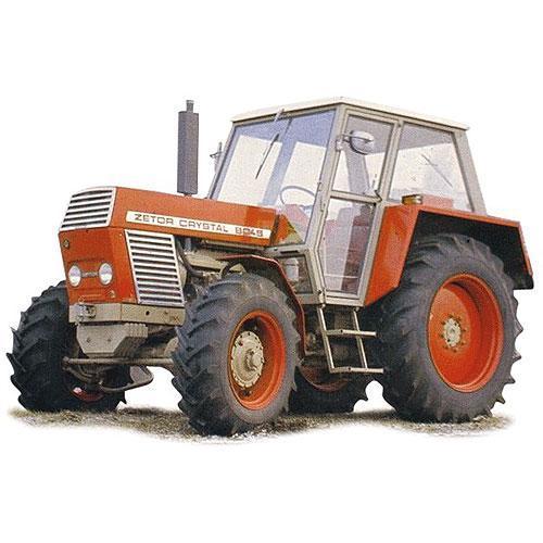 Tričko s retro motivem - T25 - traktor Zetor 8045