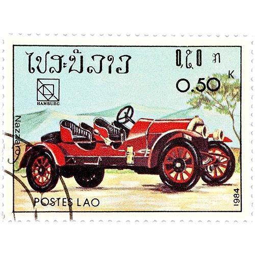 Tričko s retro motivem - T30 - poštovní retro známka