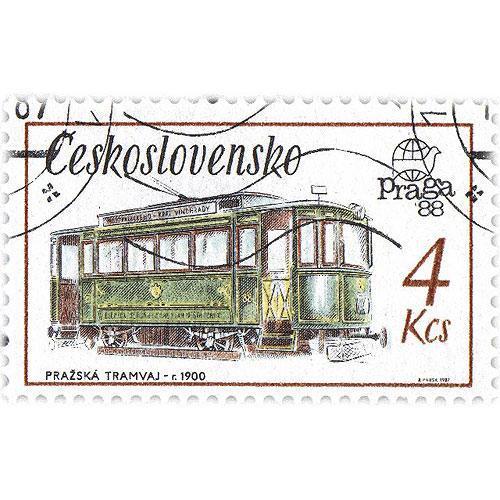 Tričko s retro motivem - T59 - tramvaj