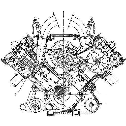 Tričko s retro motivem - T66 - motor