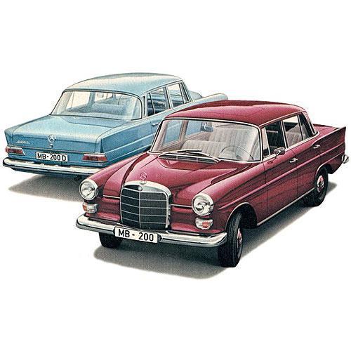 Tričko s retro motivem - T76 - Mercedes