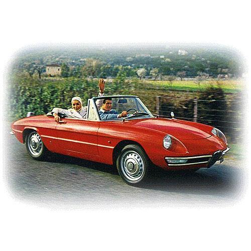 Tričko s retro motivem - T77 - Alfa Romeo