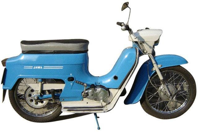 Tričko s retro motivem - T88 - motocykl pionýr
