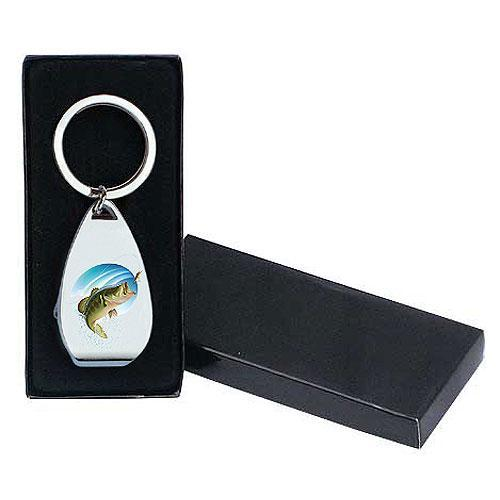Klíčenka s otvírákem pro rybáře
