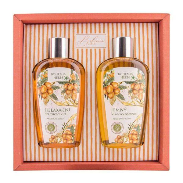 Kosmetická sada Bohemia Herbs - arganový olej