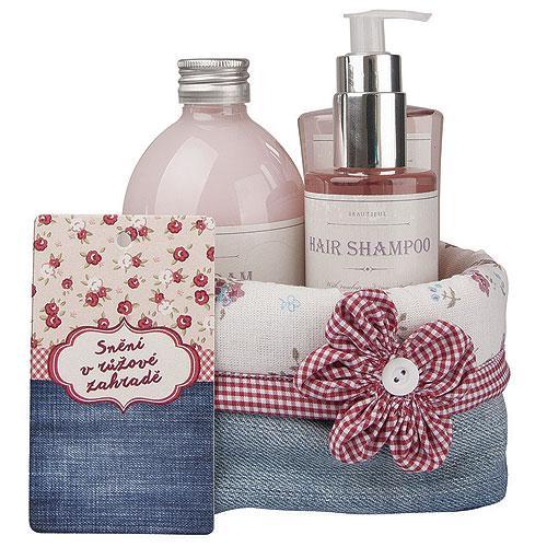 Kosmetické dárkové balení - Růžové snění