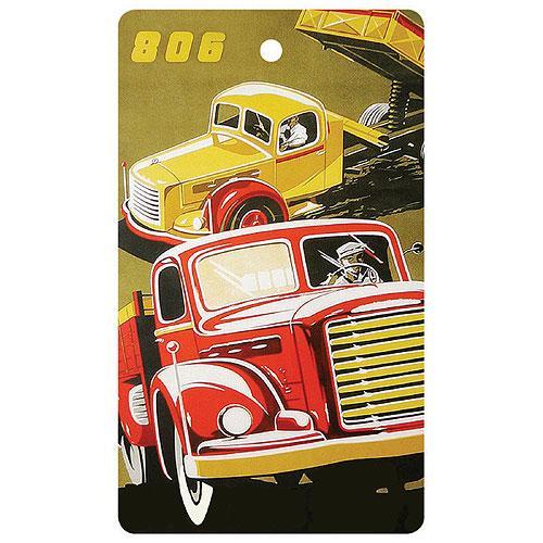 Ručně parfémovaná aromatická karta do auta - náklaďák