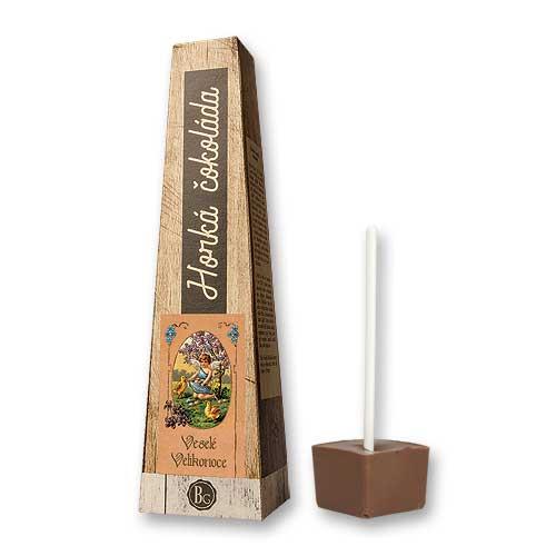 Prodejní box - 9 ks - horká čokoláda 30 g - Veselé Velikonoce - 3x3ks