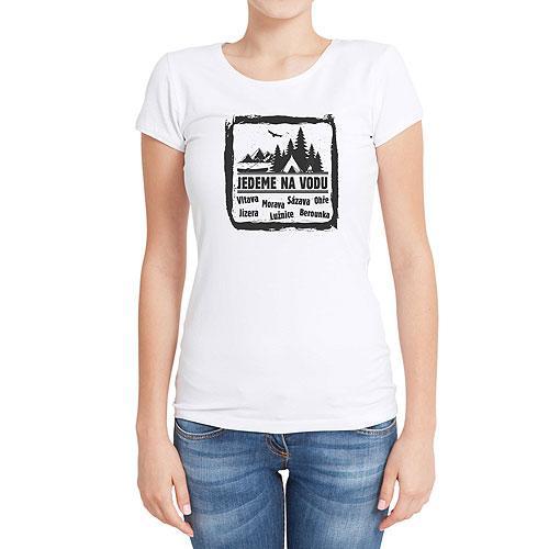 Vodácké tričko - dámské - Jedeme na vodu