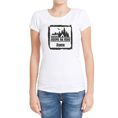 Vodácké tričko - dámské - Jizera