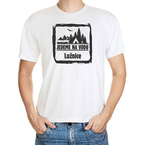 Vodácké tričko - pánské - Lužnice