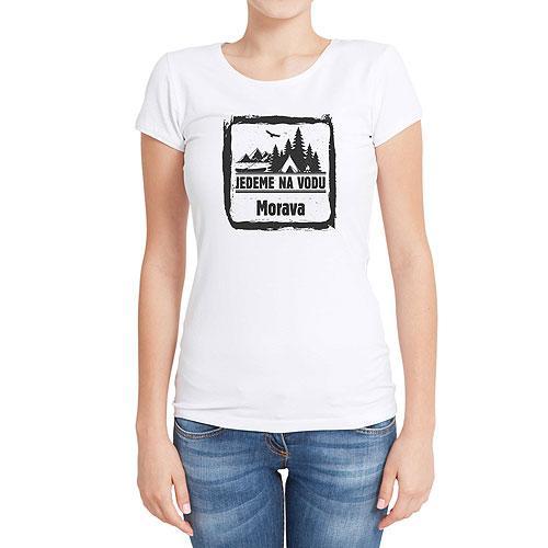 Vodácké tričko - dámské - Morava