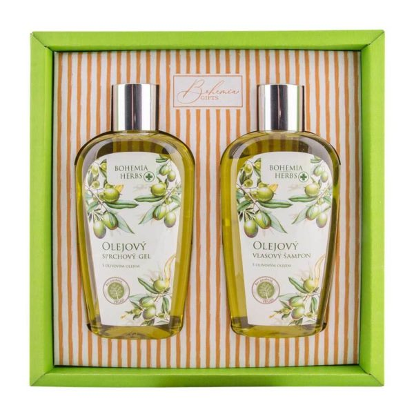 Kosmetická sada Bohemia Herbs - oliva