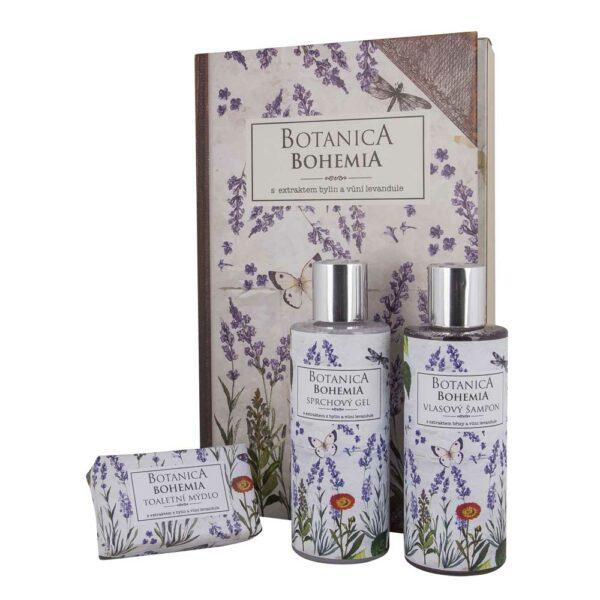 Kosmetická sada Botanica Bohemia - levandule