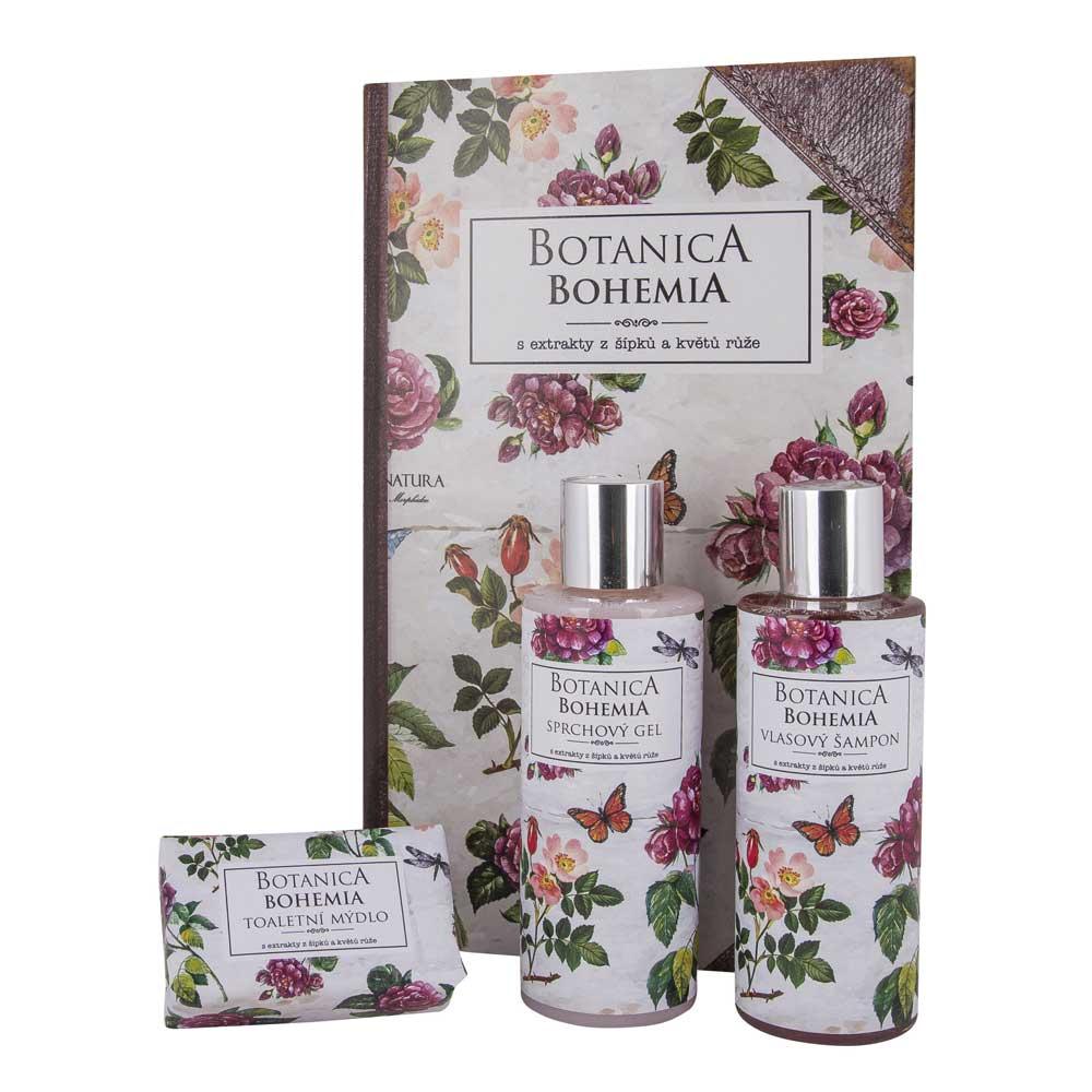 Kosmetická sada Botanica Bohemia - růže