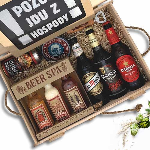 Dárkový box pivní speciál