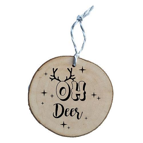 Ručně vyráběná vánoční ozdoba - Oh Deer