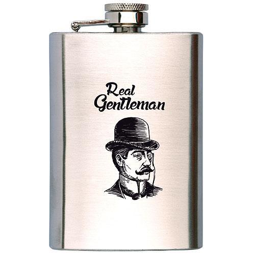 Dárkový koš pro muže - plechový - gentleman