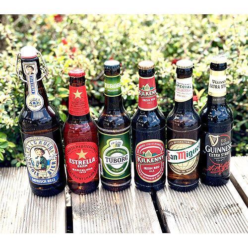 Dárková sada výběr evropských piv