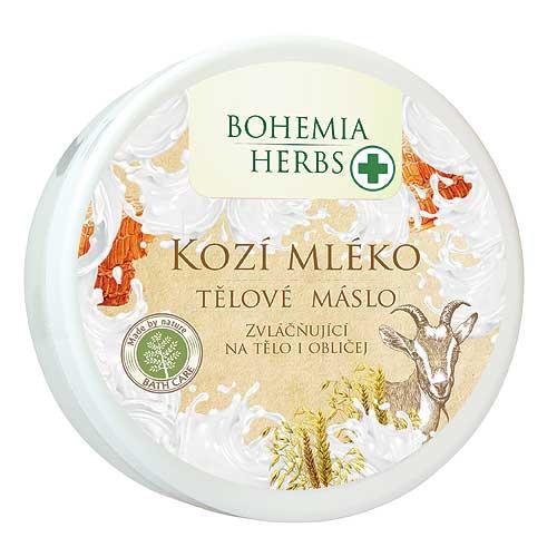 Tělové máslo 200 ml s extrakty z kozího mléka