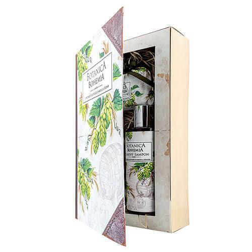 Botanica pivní kosmetický balíček - chmel a obilí