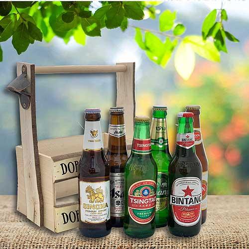Degustační pivní sada asijských piv - na zdraví Asii