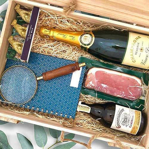 Dárkový dřevěný box - luxus pro muže