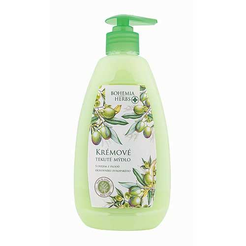 Krémové tekuté mýdlo 500 ml - oliva