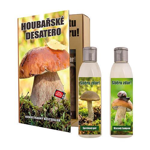 Kosmetický balíček pro houbaře