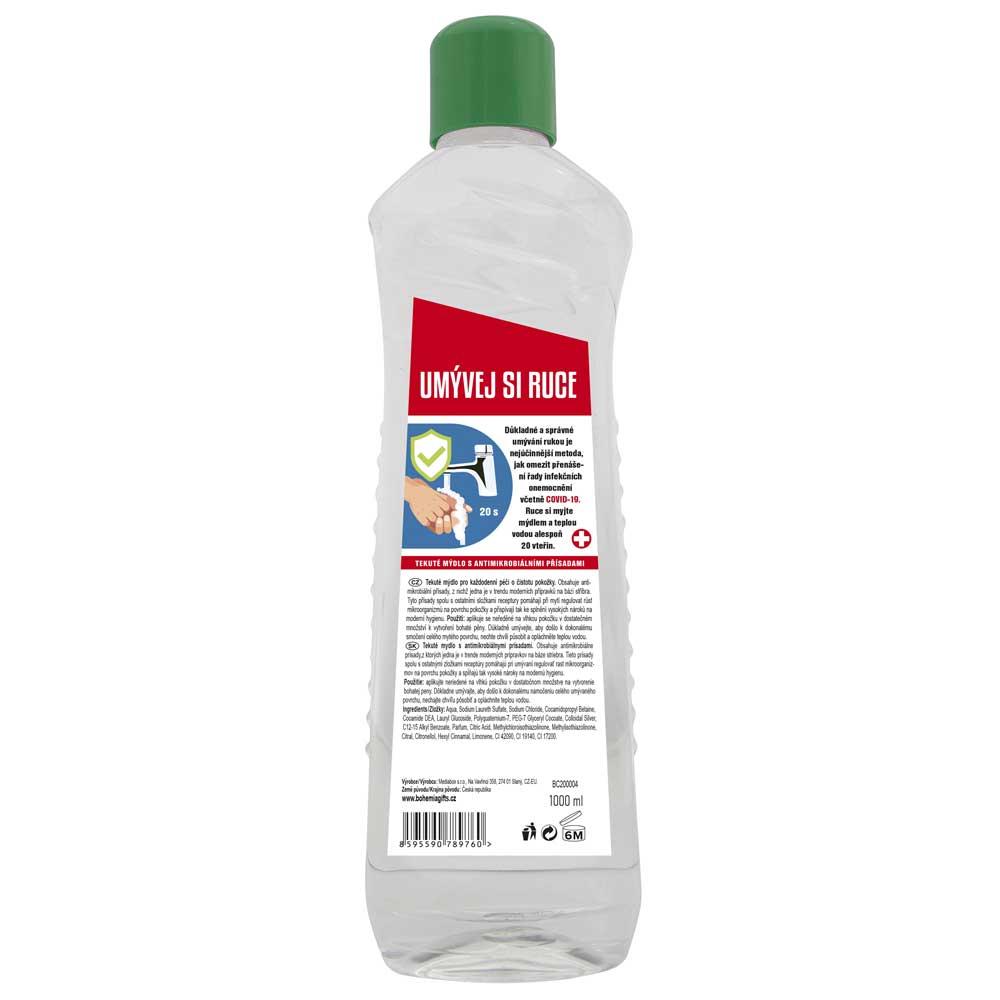 Tekuté mýdlo 1000 ml s antimikrobiálními přísadami