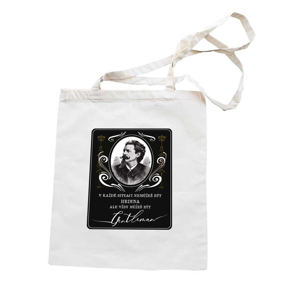 Plátěná taška pro muže - gentleman