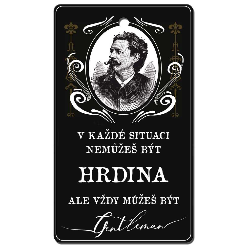 Vonná karta pro muže - gentleman