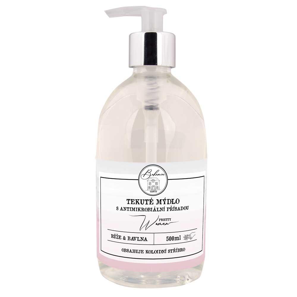 Tekuté mýdlo s antimikrobiální přísadou 500 ml
