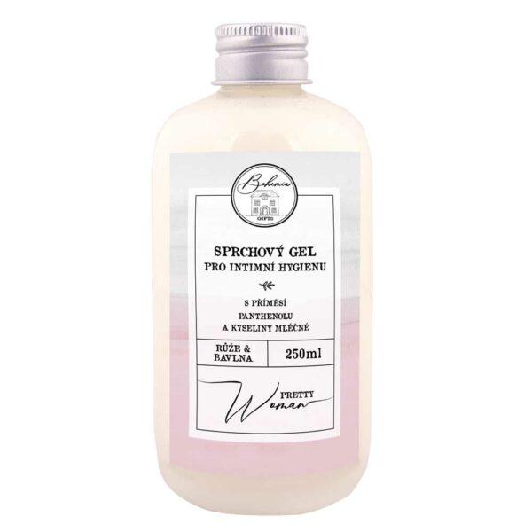 Krémový sprchový gel pro intimní hygienu