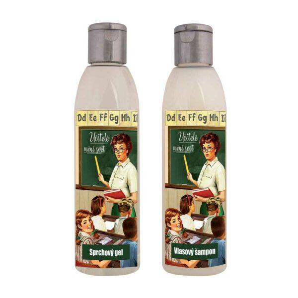 Dárková sada kosmetiky pro učitele - gel a šampon