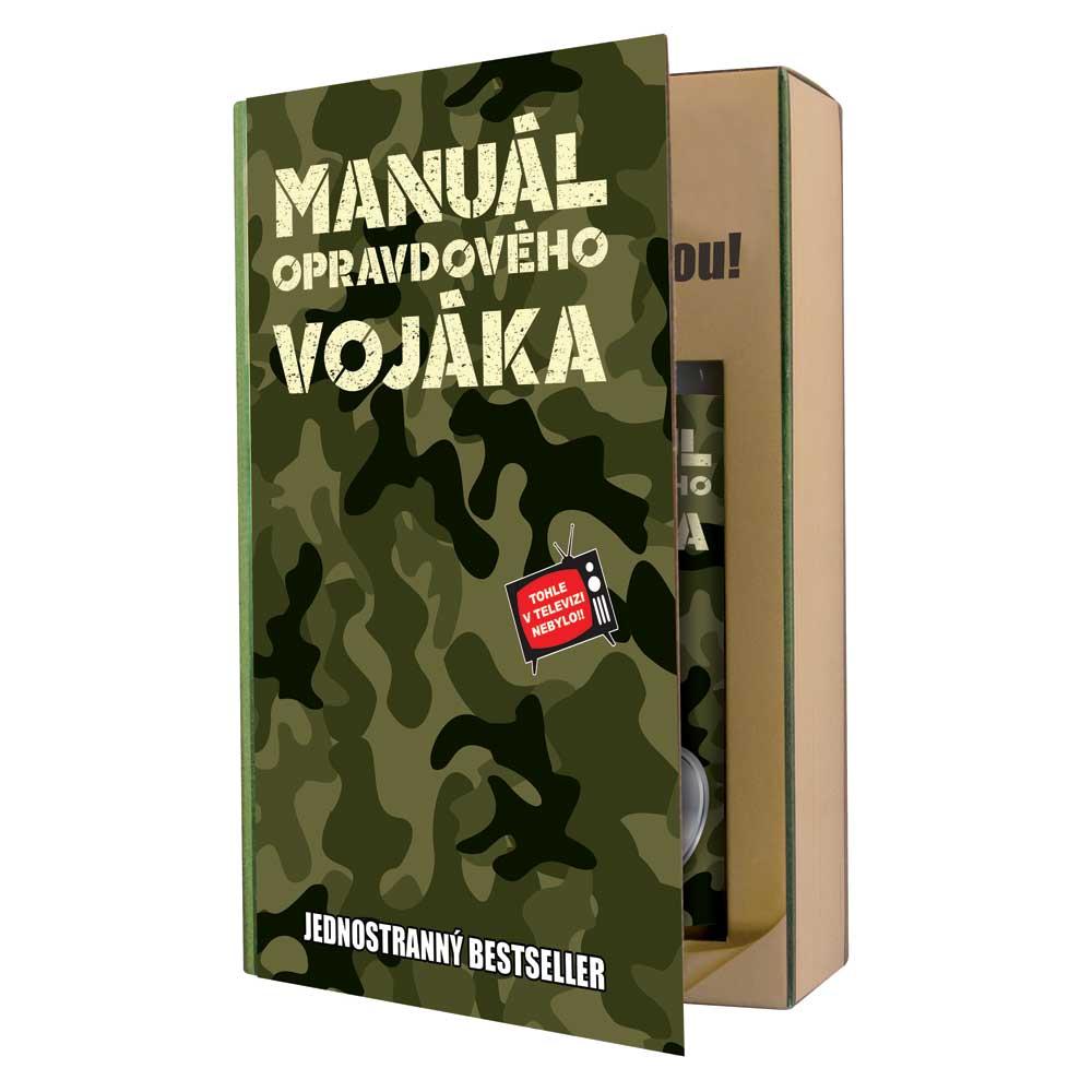 Dárková kosmetická sada pro vojáka - kniha