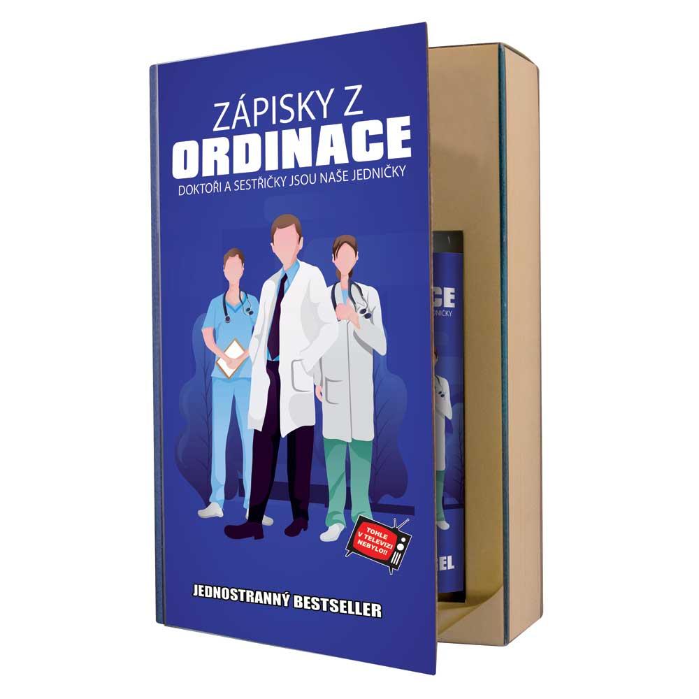 Dárková kosmetická sada pro zdravotníky - kniha
