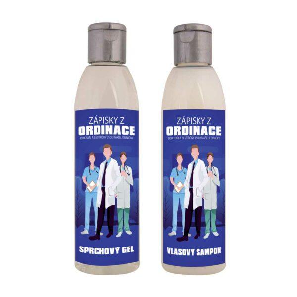 Kosmetická sada pro zdravotníky - gel a šampon