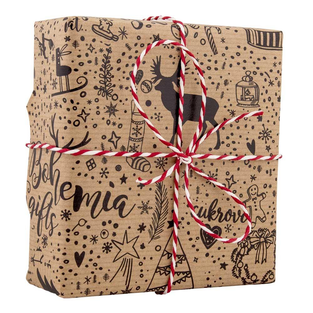 Vánoční balící papír