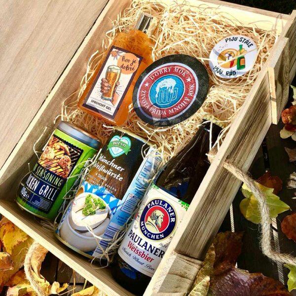Dárkový pivní box - Oktoberfest
