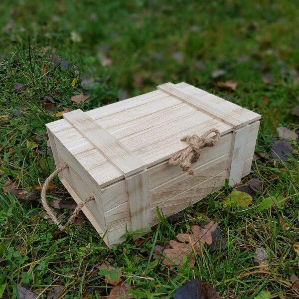 Dárkový dřevěný box