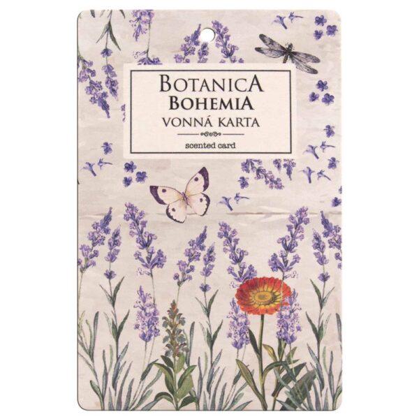 Botanica vonná karta - levandule