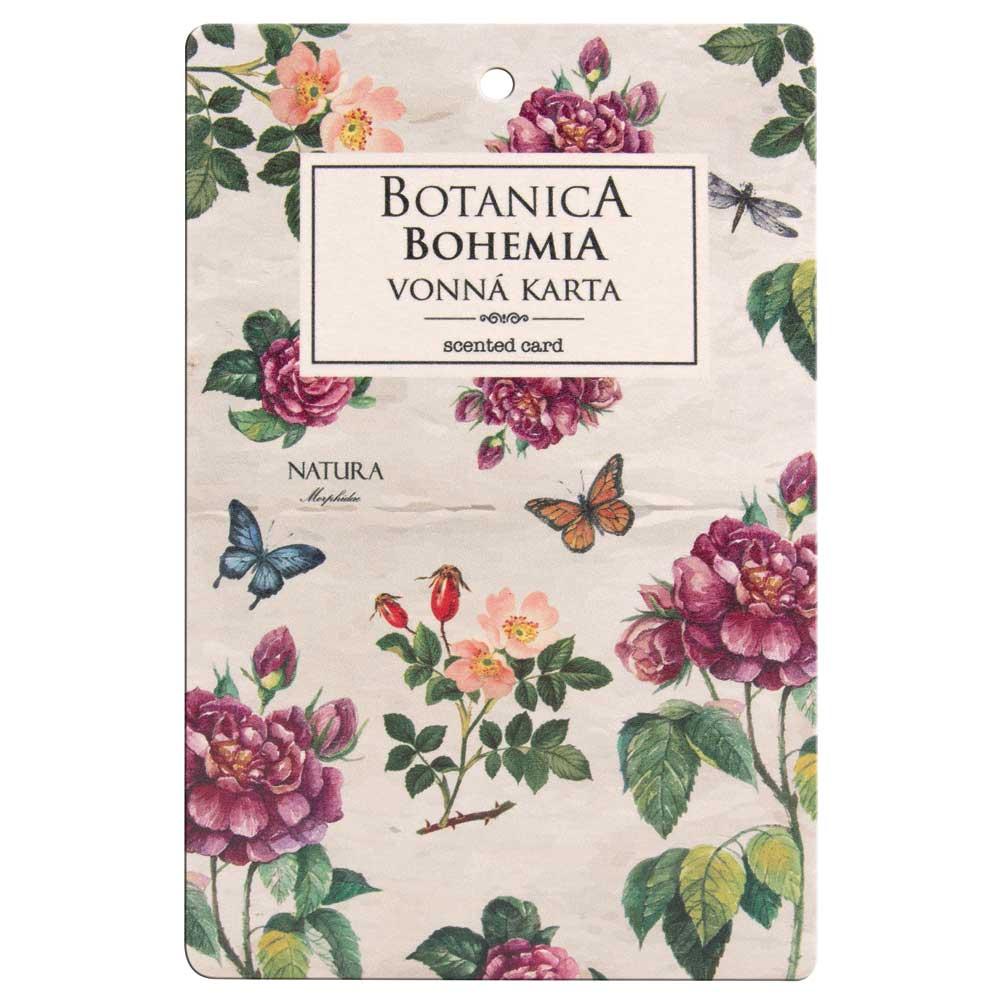 Botanica vonná karta - růže