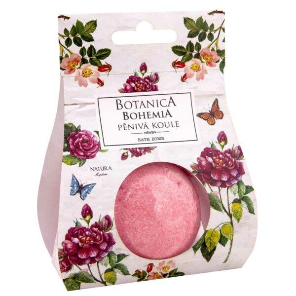 Botanica šumivá bomba do vany - růže
