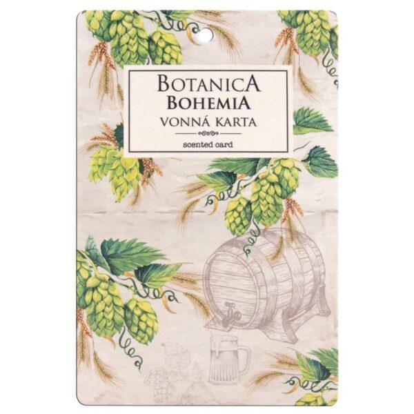 Botanica vonná karta - chmel