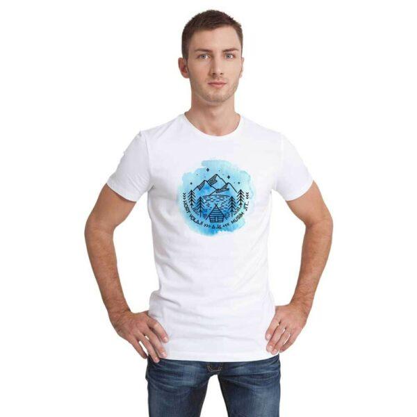 Pánské tričko s potiskem Hory volají